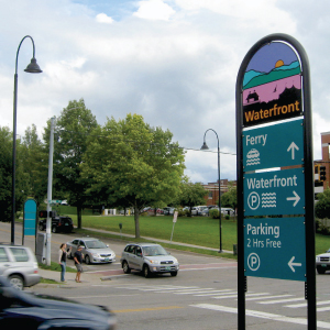 Burlington Wayfinding