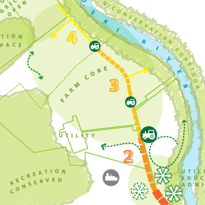 Intervale Land Use Planning & Wayfinding