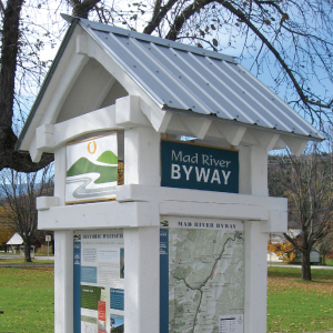 Mad River Byway Interpretive Signage